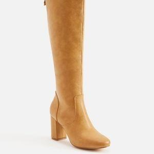 JustFab Heeled Boot Debbonie Caramel